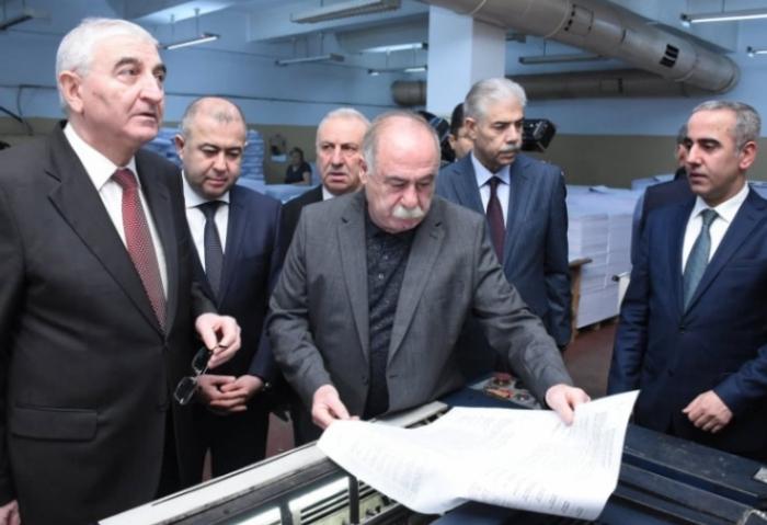 Printing of ballots on parliamentary elections kicks off