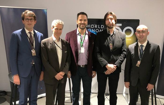 Dövlət Agentliyi Davos Forumunda təmsil olunub - FOTOLAR