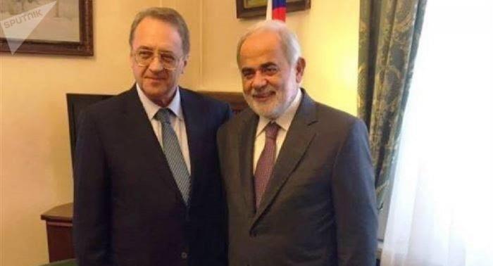 بوغدانوف يؤكد لمستشار الرئيس اللبناني دعم ومساندة موسكو للبنان
