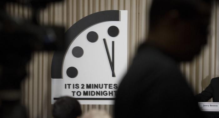 L'horloge de la fin du monde est arrêtée 100 secondes avant le «minuit nucléaire»