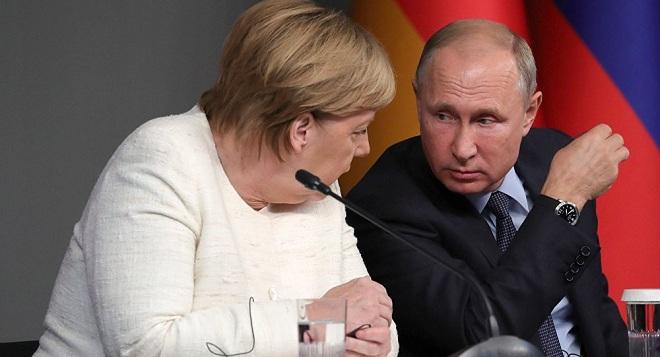 Merkel və Putin Berlin konfransını müzakirə etdilər