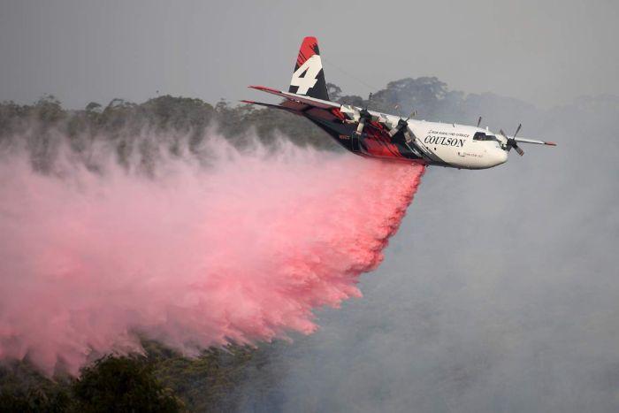 Three die after crash of Australian aircraft fighting bushfires