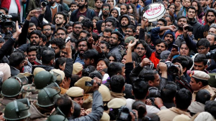 JNU: Students across India protest against campus attack