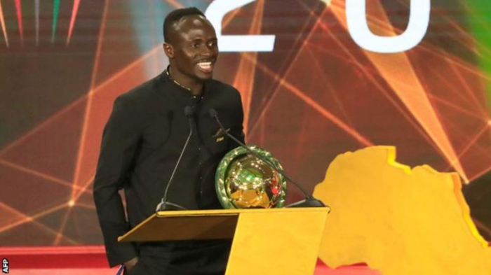 Liverpool's Mane named Caf African Player of the Year