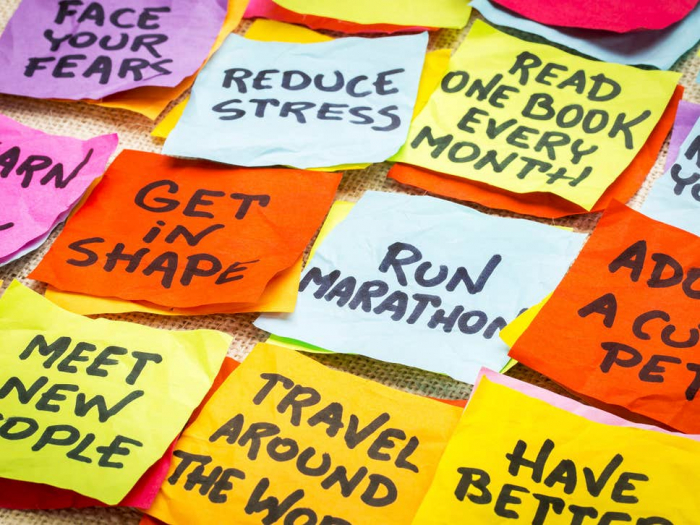 Here's how to really stick to your new year's resolution