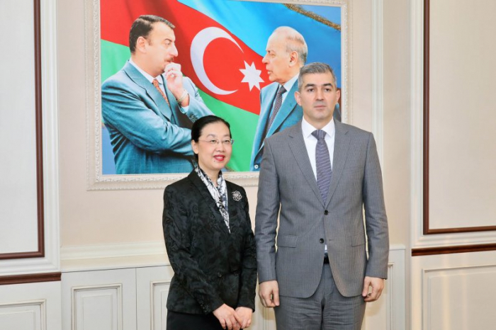 Azerbaijan State Migration Service head meets Chinese ambassador