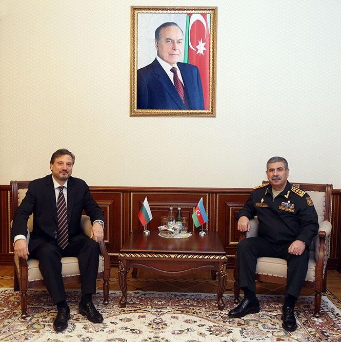 Azerbaijan, Bulgaria discuss prospects for development of military co-op