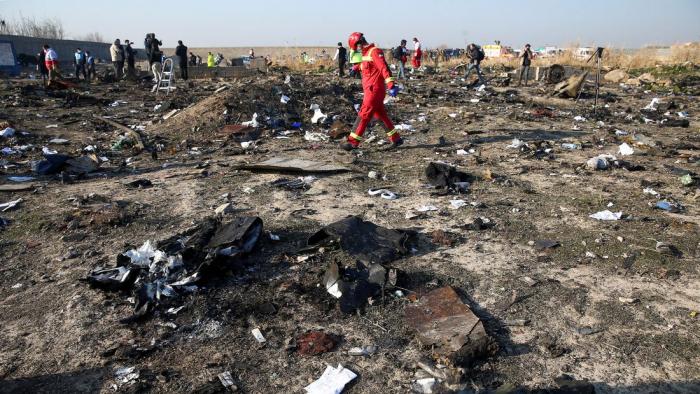 Crash en Iran:   les experts ukrainiens ont obtenu l