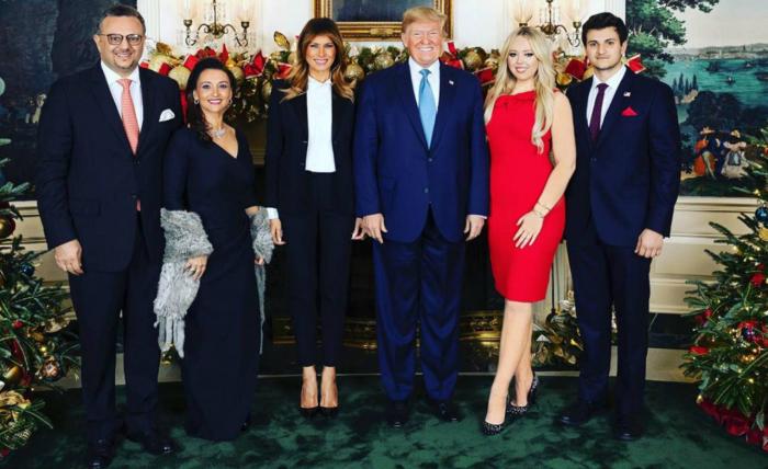 La familia Trump y uno más:   Michael Boulos, el novio libanés de Tiffany