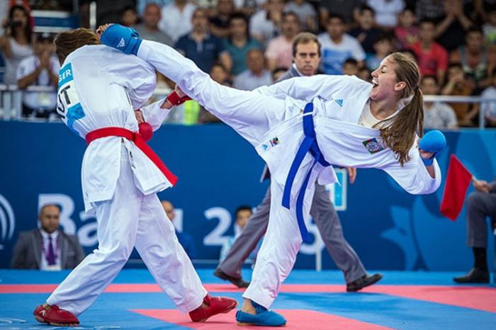 Azerbaijan's Zaretska claims silver at Karate 1-Series A Santiago