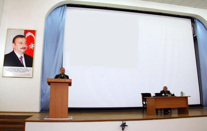 Azerbaijani deputy defense minister sums up 2019 activities in Baku Garrison