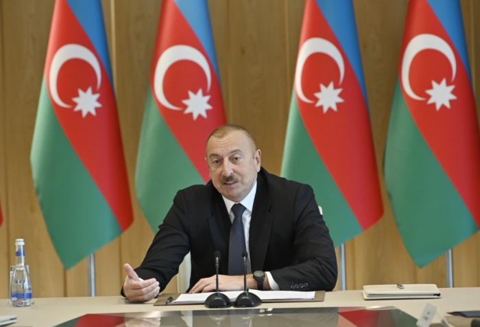 """""""Siyasətimizə verilən yüksək qiymət bizi daha da ruhlandırır"""" - Prezident"""