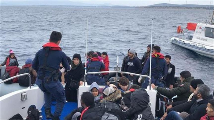 131 irregular migrants held off Turkey
