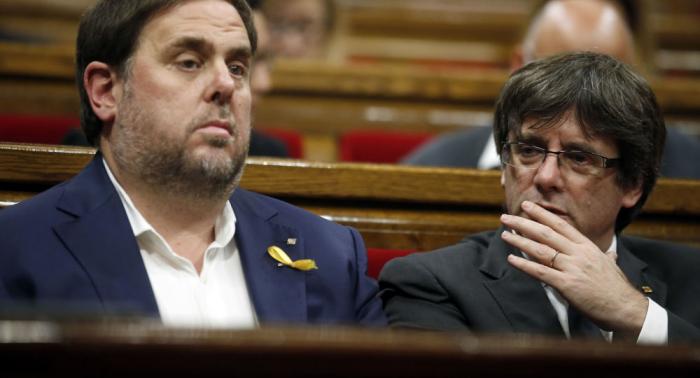 """Oriol Junqueras promete continuar su """"batalla legal"""" en Europa"""