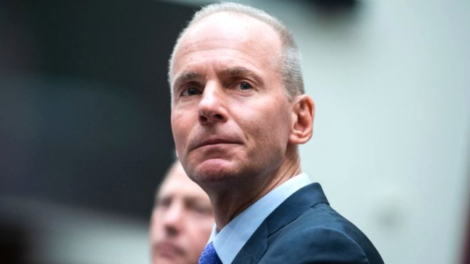 Former Boeing chief Dennis Muilenburg leaves with $62m
