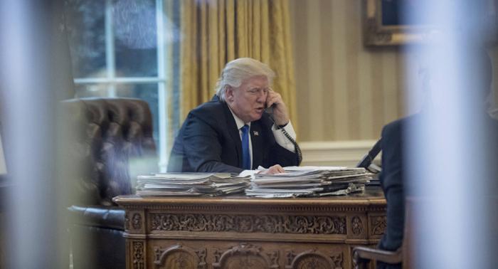 Telefonat zwischen Merkel und Trump:   Naher Osten und Libyen im Vordergrund