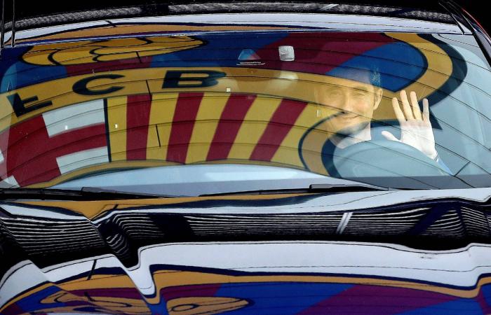 El Barça:  Quique Setién sustituye a Valverde