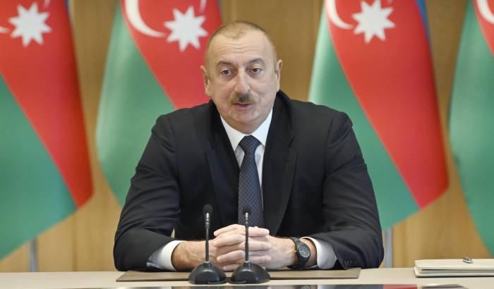 Ilham Aliyev:  Die im letzten Jahr erzielten Ergebnisse haben unsere militärische Stärke weiter gesteigert -  AKTUALISIERT  -  FOTO
