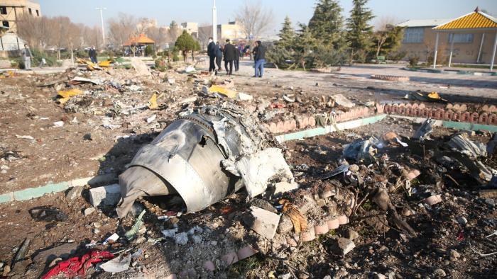 Irán detiene a varias personas en relación con el derribo del avión ucraniano