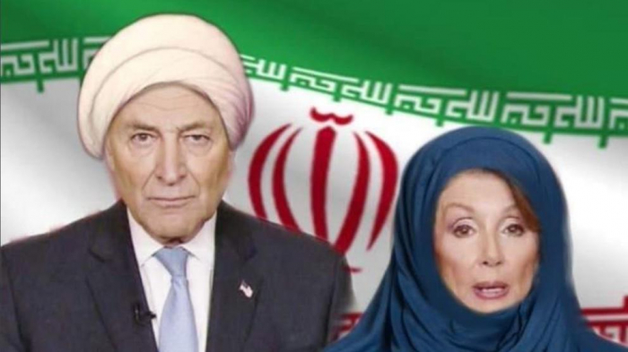 Donald Trump retuitea un montaje de Nancy Pelosi con hijab y la bandera iraní