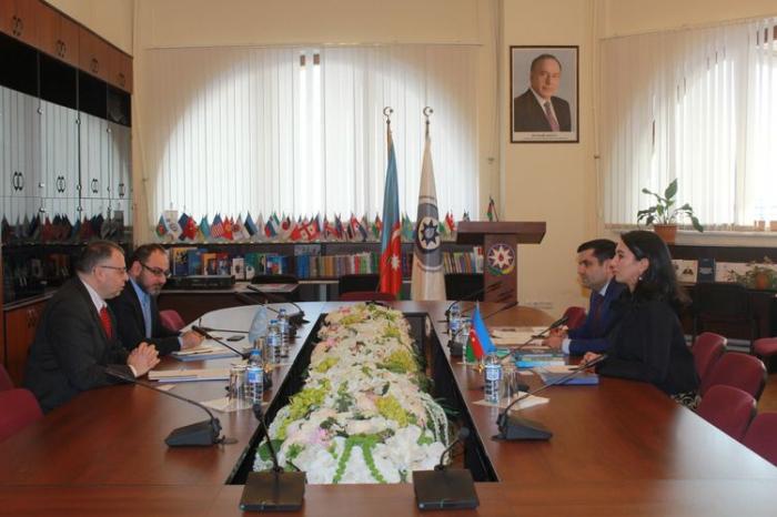 Ombudsman Vladimir Şkolnikov ilə görüşüb