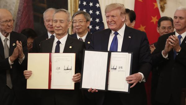 U.S., China reset trade relationship with Phase 1 agreement