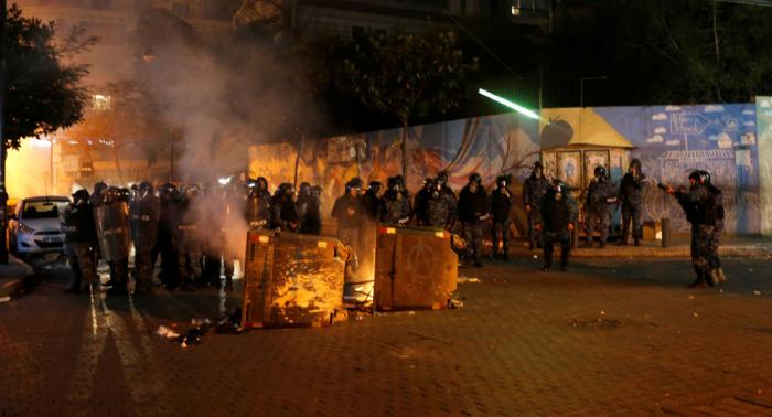La policía y el Ejército toman control de la zona cerca de la embajada de Rusia en Beirut