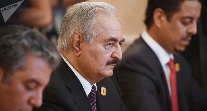 Haftar participará en la conferencia sobre Libia en Berlín