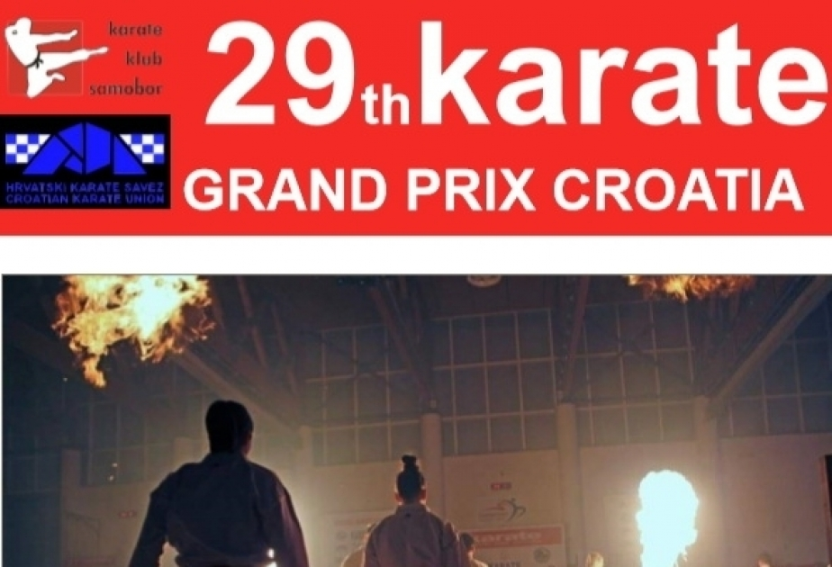Azerbaijani karate fighters to compete at Grand Prix Croatia 2020
