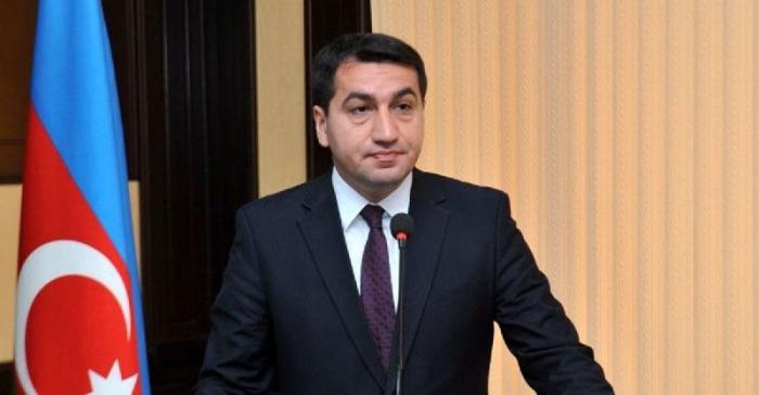 Hikmet Hajiyev: La UE tiene un apoyo firme y unánime a la integridad territorial de Azerbaiyán