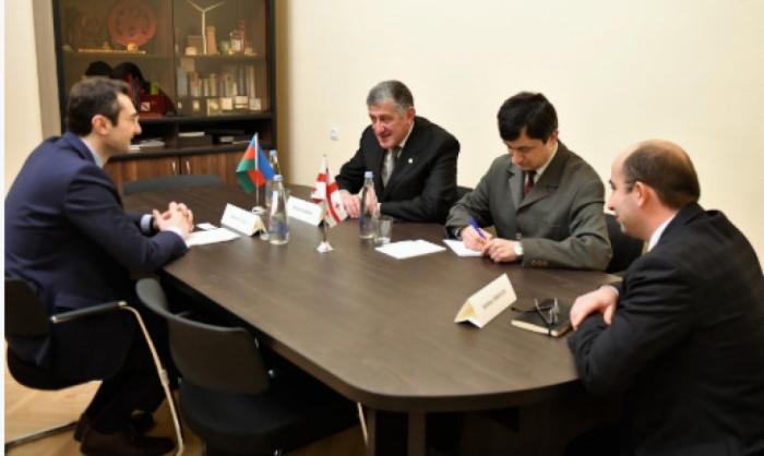 Se discuten las perspectivas de cooperación entre los parlamentos de Azerbaiyán y Georgia