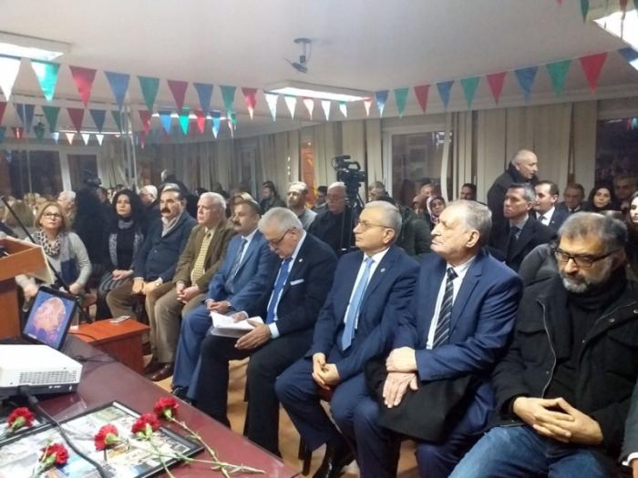 20 Yanvar şəhidlərinin xatirəsi İstanbulda yad edilib