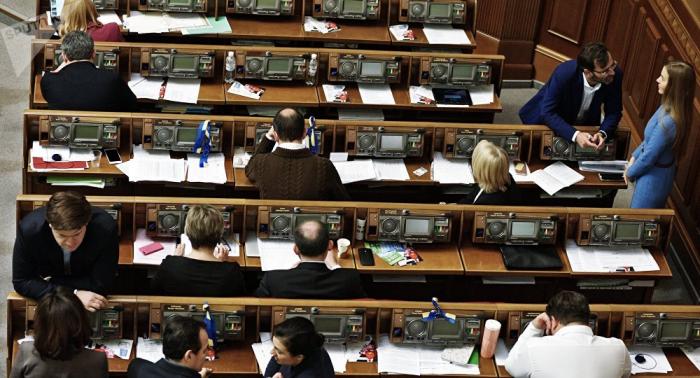 Despiden a un político ucraniano tras un escándalo sexual