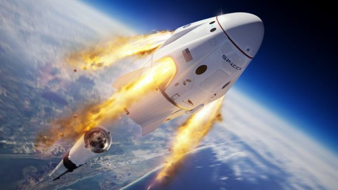 SpaceX to practise emergency crew capsule escape