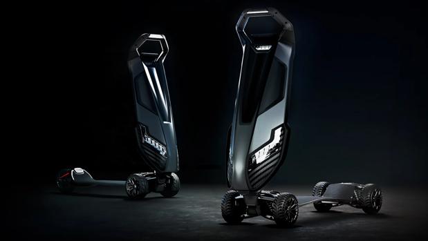 El futuro de los patinetes eléctricos de lujo se llama Dragonfly y vale 6.000 dólares