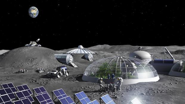 Científicos de la ESA crean un método para extraer oxígeno del polvo de la Luna