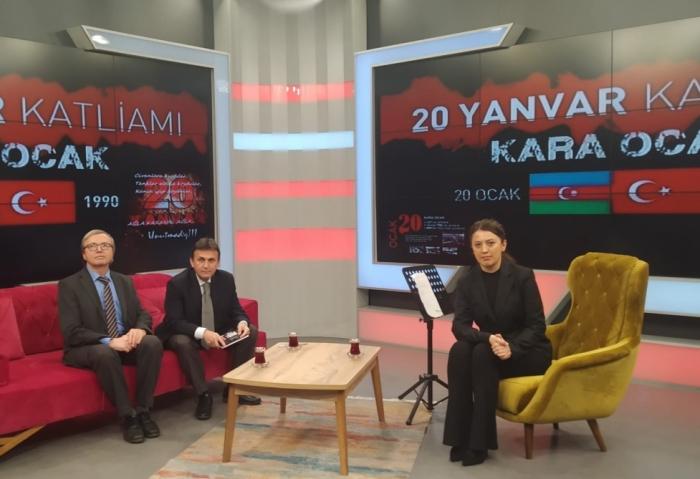 Canal de televisión turco emite un programa sobre la tragedia del 20 de enero