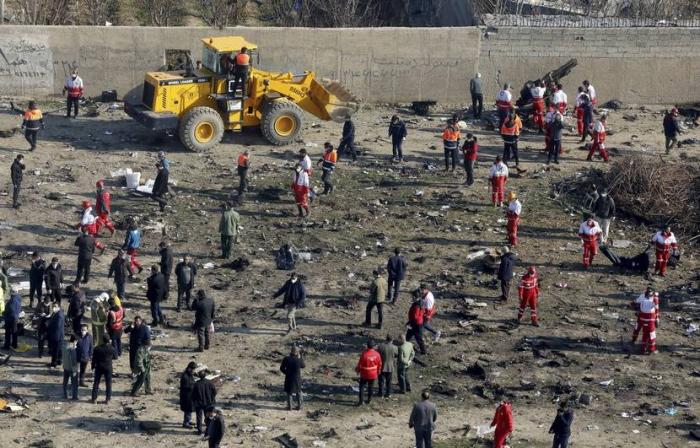 Les boîtes noires du Boeing abattu en Iran seront envoyées en Ukraine