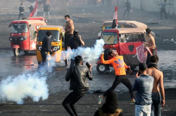 Zusammenstöße bei Protesten im Irak - Dutzende Verletzte