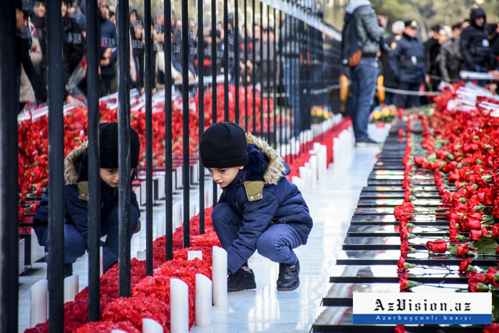 30 aniversario de la tragedia del 20 de enero-  Fotoreportaje