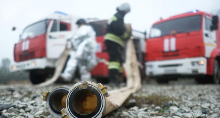Tragödie in Sibirien: Brand in Holzgebäude fordert elf Todesopfer