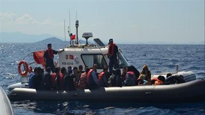 Turquie :  2400 migrants interceptés la semaine passée