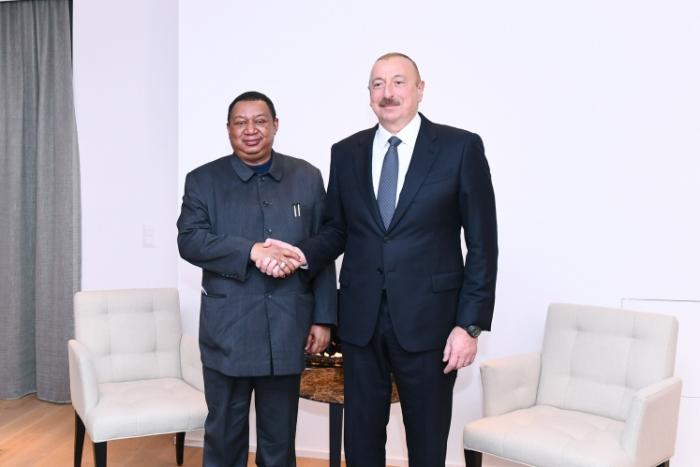 Entretien du président azerbaïdjanais avec le secrétaire général de l