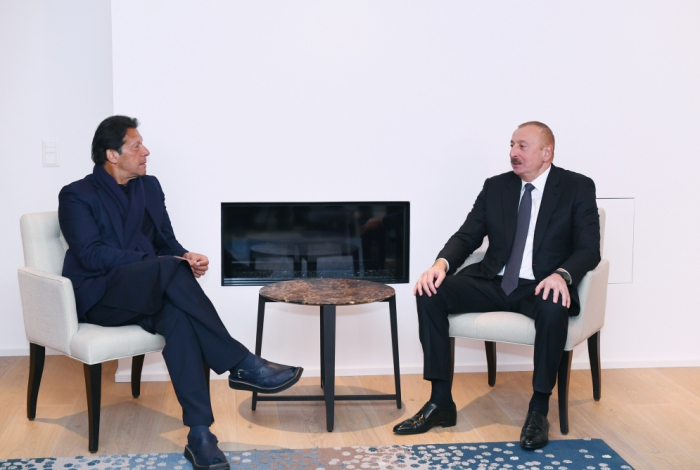 İlham Əliyev İmran Xanla görüşdü -   FOTO