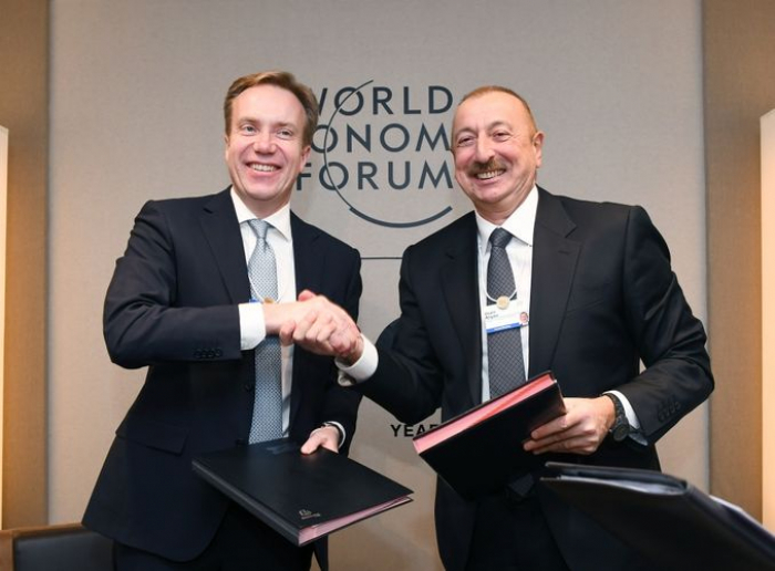 Regional centre of WEF to be established in Azerbaijan- PHOTOS