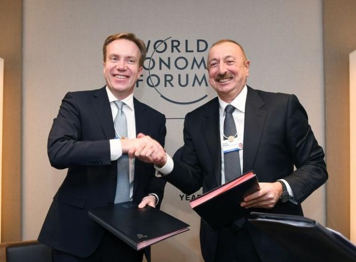 Un centre régional du Forum économique mondialsera créé enAzerbaïdjan -  PHOTOS
