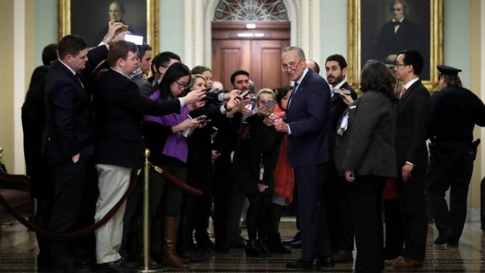 Los republicanos bloquean las enmiendas demócratas sobre el juicio a Trump
