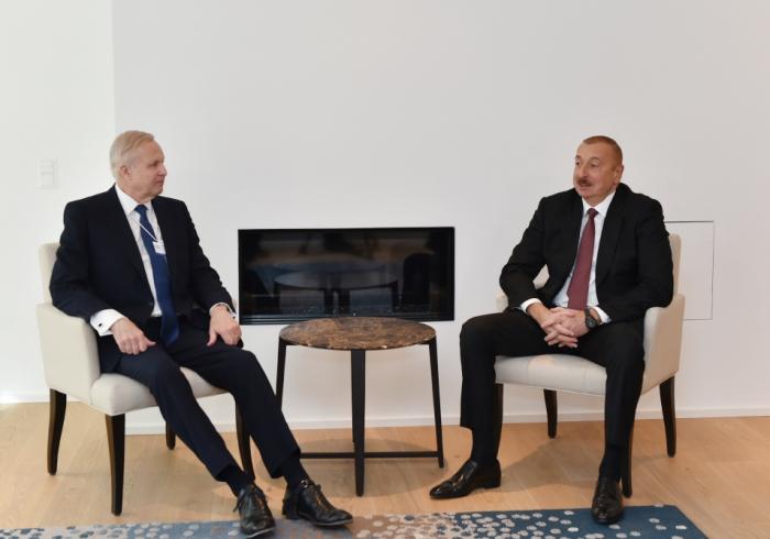 Prezident BP-nin baş icraçı direktoru ilə görüşüb - FOTO
