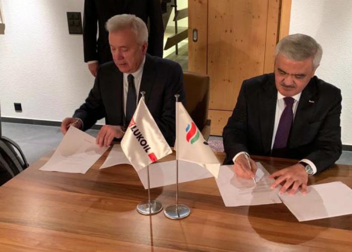 """SOCAR firma Memorando de Entendimiento con """"LUKoil"""""""
