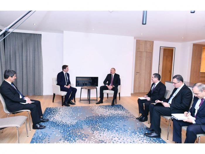 Ilham Aliyev trifft den Vorstandsvorsitzenden der SUEZ-Gruppe
